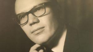 Ralf Friberg porträttbild från början av sextiotalwet.
