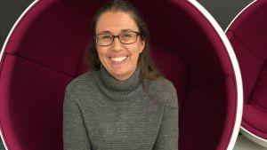 Nina Mahlberg, psykolog och familjeterapeut hos Barnavårdsföreningen