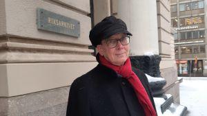 Jussi Nuorteva är riksarkivarie.
