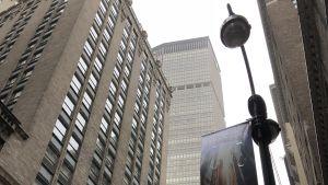 I Metlife-byggnadens 31 våning på Manhattan har DNB sitt kontor