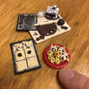 Joululeivonta miniatyyrit