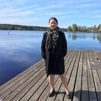 Savonlinnan hotelli Seurahuoneen hotellijohtaja Kati Vihma.
