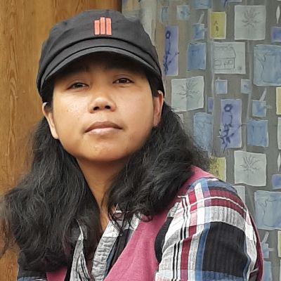 Wai Mar Nyunt är filmskapare från Myanmar, gift och bosatt i Pojo.