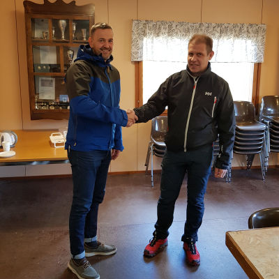 Ulf Stenman och Mats Johansson.