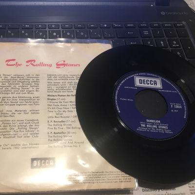 En Rolling Stones vinylsingel