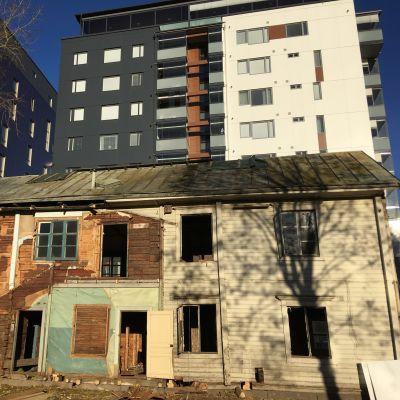 Pollarin talo siirretään pois uuden torin laidalta Seinäjoella