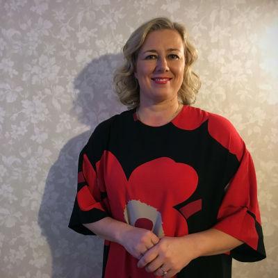 EU-komissaari Jutta Urpilainen kahvitti yhteistyökumppaneitaan ja tukijoitaan Kokkolassa 4.1.2020