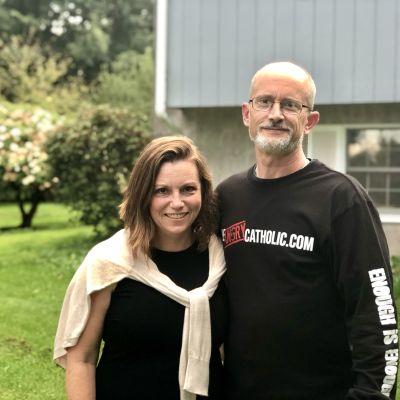 Kristen och Paul Ciaccia i Pennsylvania.
