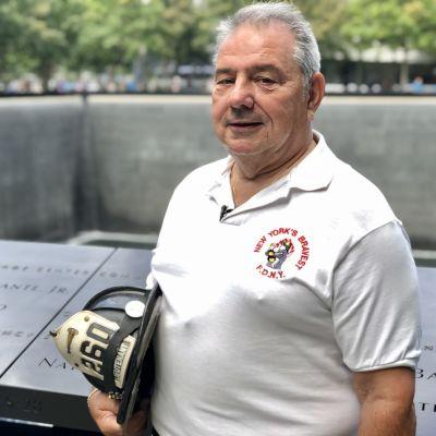 Brandmannen George DeSimone minns 11 september-attackerna tjugo år senare.