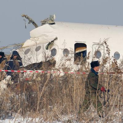 Kazakstanissa 12 ihmistä kuoli 27. joulukuuta sattuneessa lento-onnettomuudessa.
