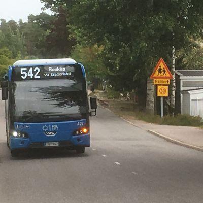 Buss i Esbo