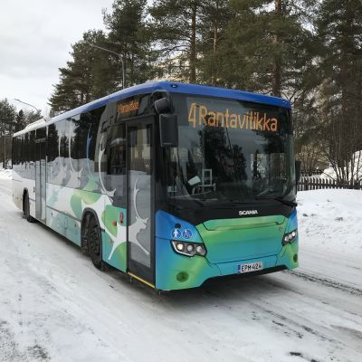 Rovaniemen paikallisliikenne Linkkarin bussi