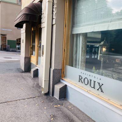 Ravintola Rouxin ulkoseinä