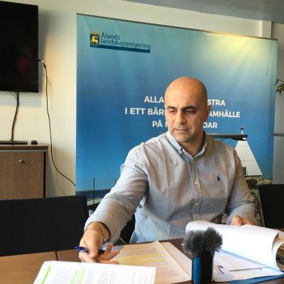 Veterinär Mohammed Jabor Alipour
