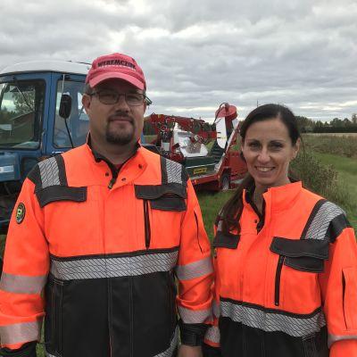 Jan-Ole och Gallina Sandås.
