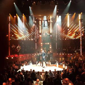 Peter Jöback på Cirkus scen i Stockholm