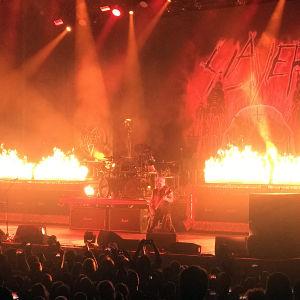 Slayer i Helsingfors ishall 8.12.2018.
