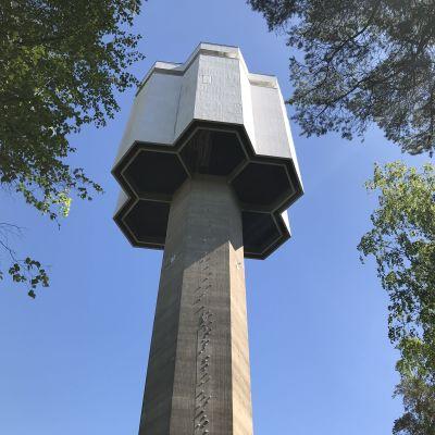 Porin Kaanaassa lähellä Yyteriä sijaitseva vesitorni, joka toimii myös näkötornina.