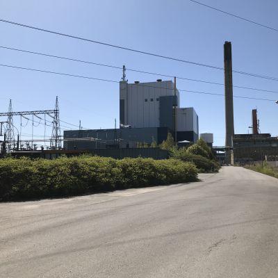 Porin Tahkoluodossa Meri-Porissa sijaitseva Fortumin hiilivoimala.