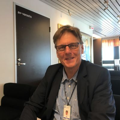 Etelä-Pohjanmaan sairaanhoitopiirin toimintayksikön johtajaa, ylilääkäri Matti Rekiaro.