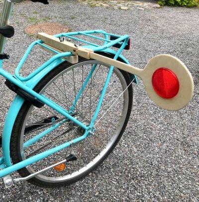 En stingpinne på en cykel