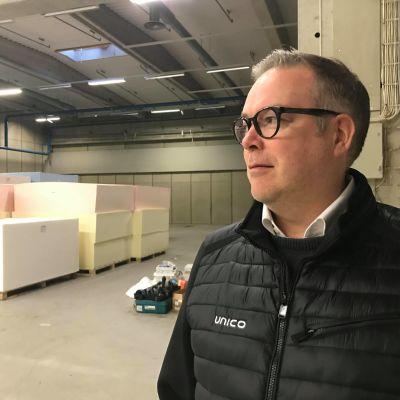 Unico Oy:n toimitusjohtaja Pasi Saarinen