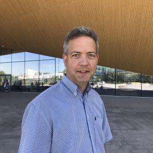Lucas Snellman, sakkunnig i kommunikation vid kyrkostyrelsen.