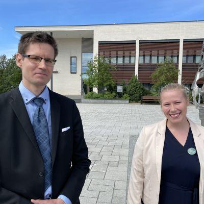Sami Savio ja Jenni Kiiskien Ylöjärvellä.