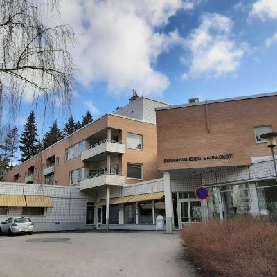 Sotainvalidien sairaskoti Jyväskylässä.