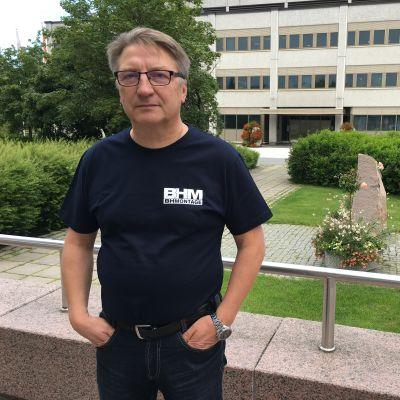 Kokkola rallin kilpailunjohtaja Jyrki Lampela