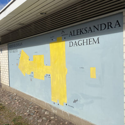 Daghemmet Aleksandra finns vägg i vägg med ett finskt daghem som heter Hiidenranta.