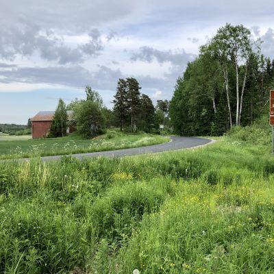 Fagerviksvägen går genom Finlands vackraste kulturlandskap.