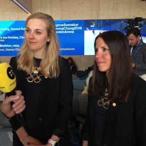 Stina Nilsson och Charlotte Kalla jagar flera guld vid OS.
