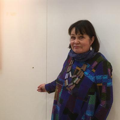 Raija Sundström i Porkala salen