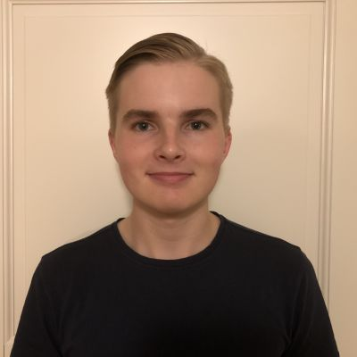 Walter Kronqvist, frilansreporter på Yle Sporten.