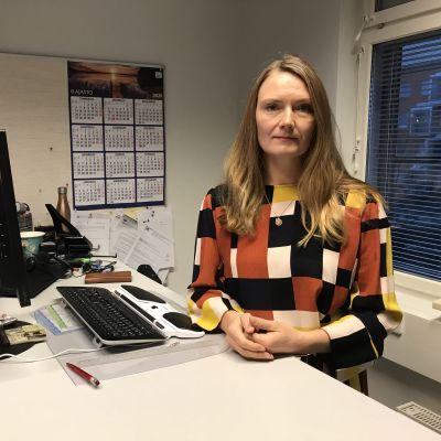 Häradsfogde Annika Björkqvist.