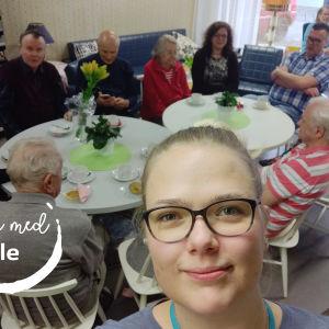 Yle Östnyland har under våren druckit kaffe med medlemmar ur Lovisa föreningar rf.