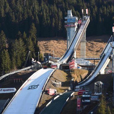 Backveckan startar i ett vårligt Oberstdorf.