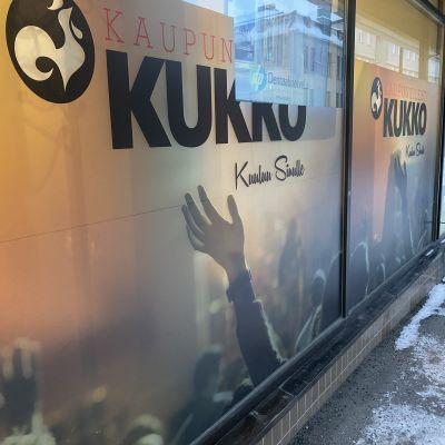 Kaupunkilehti Kukon toimitus.