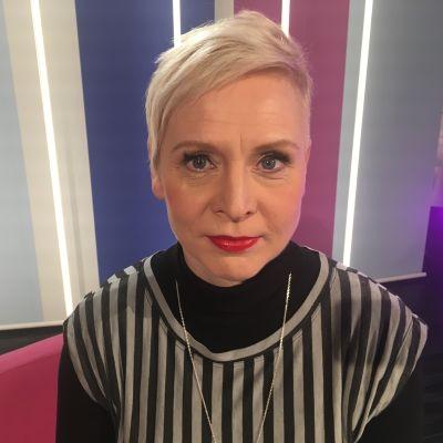 Mari Turunen Puoli seitsemän ohjelman studiossa