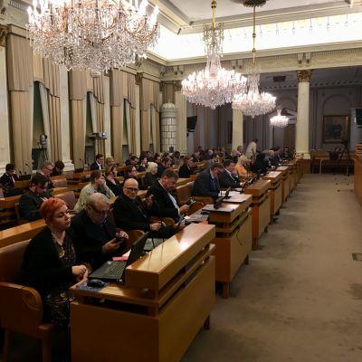 Åbo stadsfullmäktiges möte 28.1.2019