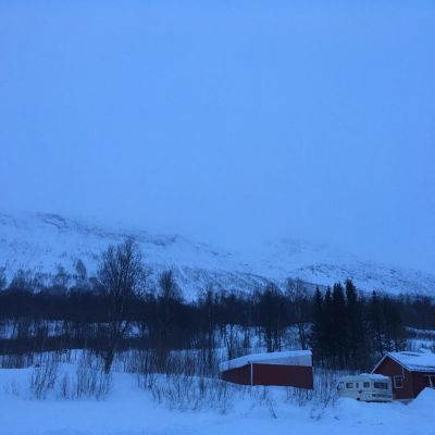 Blåbärsfjället i Tamokdalen i Norge