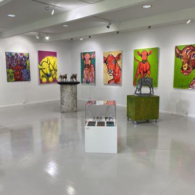 Taidekeskus Salmelassa avataan näyttely viikonloppuna