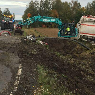 Liikenneonnettomuus Jalasjärvellä