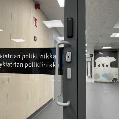 Kainuun uuden keskussairaalan lastenpsykiatrian poliklinikka.
