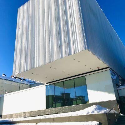 Kuopion museon ja kaupunginkirjaston uusi lisäosa Kantti.