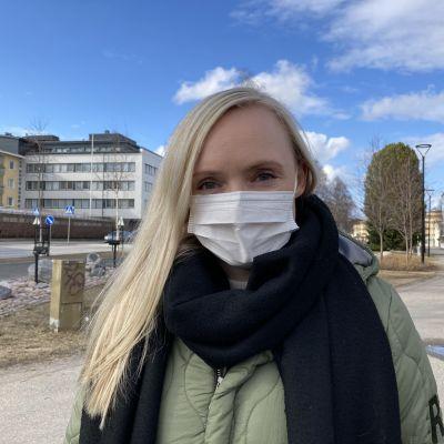 Maria Ohisalo Rovaniemen Hallituskadulla