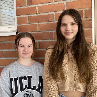 Anna Tervahauta ja Sunna Vihervirta