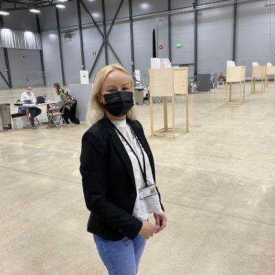 keskusvaalilautakunnan sihteeri ja lakimies, Tampereen kaupunki Katja Korhonen.