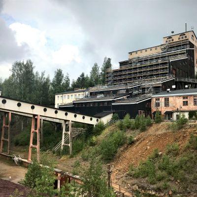 outokummun kaivos kesällä 2021